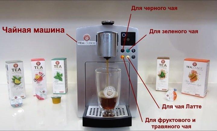 Машина для приготовления чая в капсулах