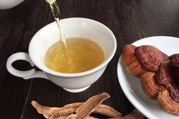 Чай из линчжи (ганодермы)