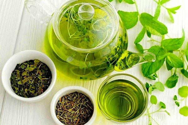Горький зеленый чай