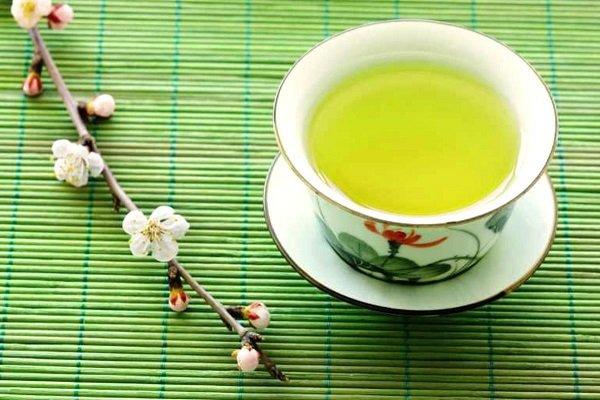 Японский чай Сенча в чашке