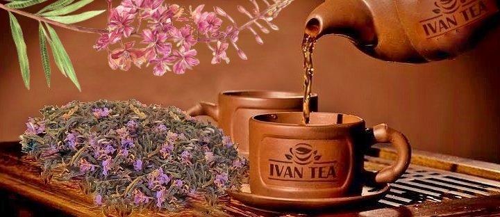 Иван чай - чаепитие