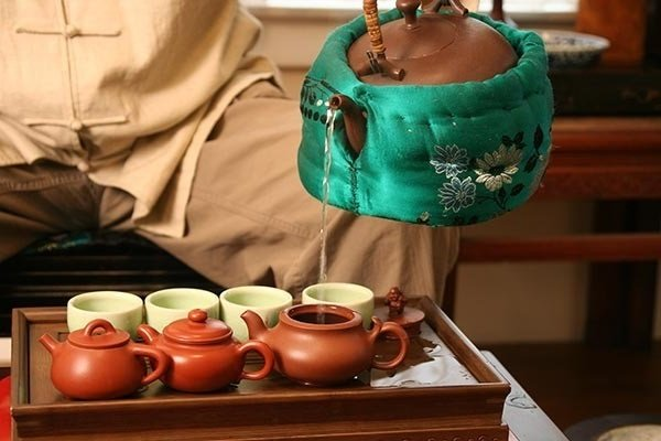 Заваривание зеленого китайского чая
