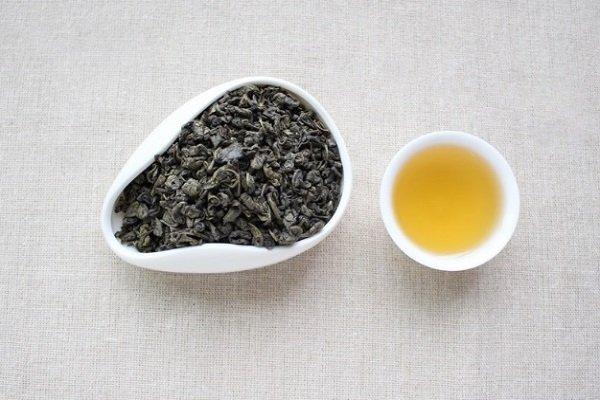 Цвет заварки чая жемчужного чая
